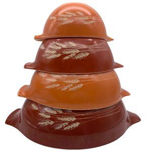 Autumn Harvest Cinderella Pyrex Bowls
